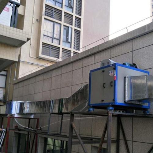 厨房排烟安装-排烟风机安装